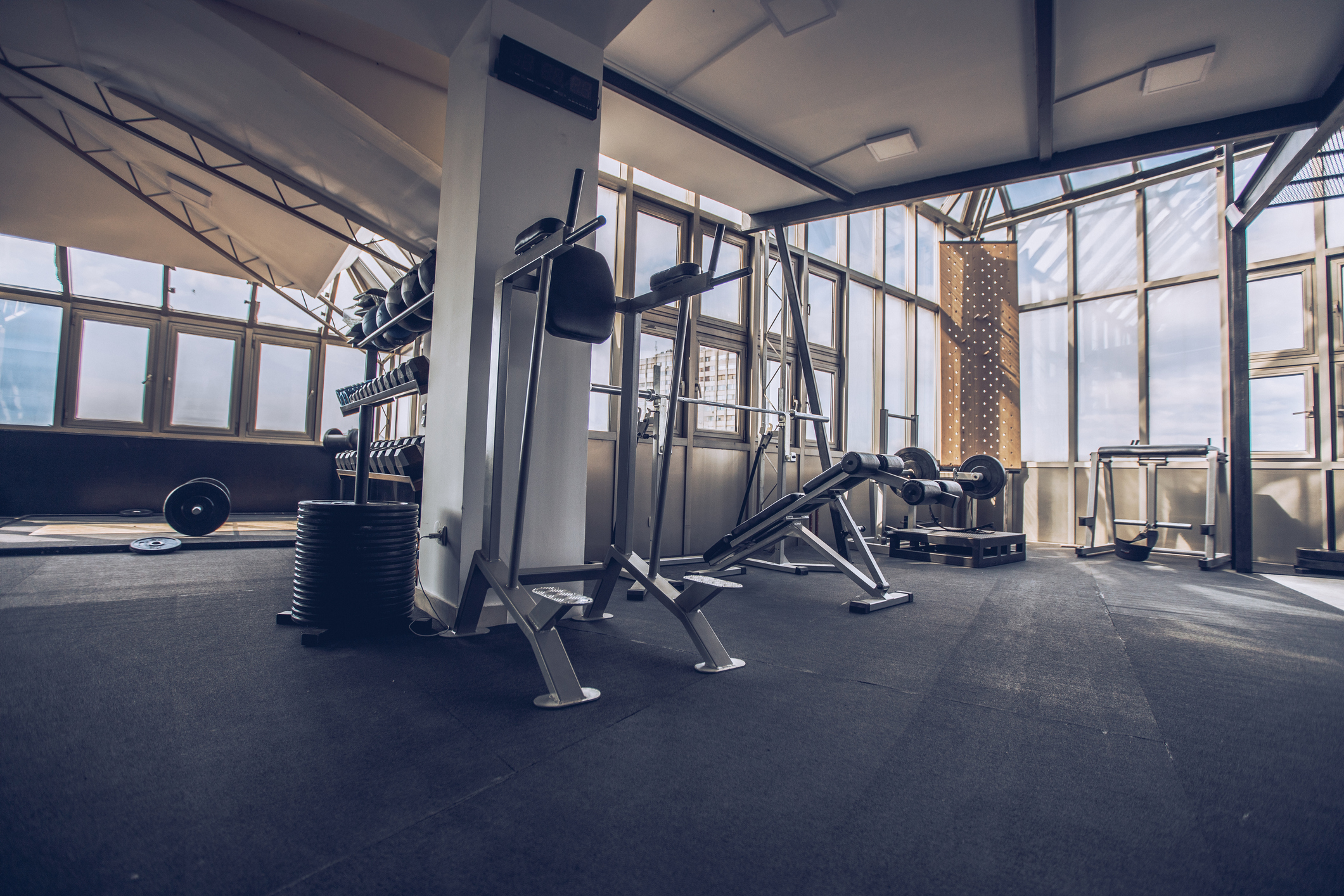 athletic facilities weight room